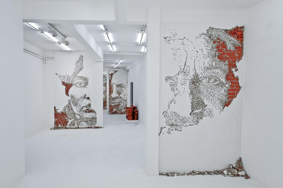 Vhils Exhibition - Fragments Urbains