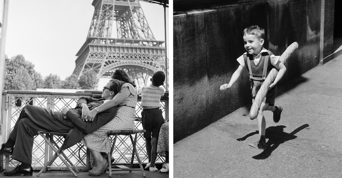 Heartwarming Photos Capture the Simple Joys of Life in a Post-WWII Paris