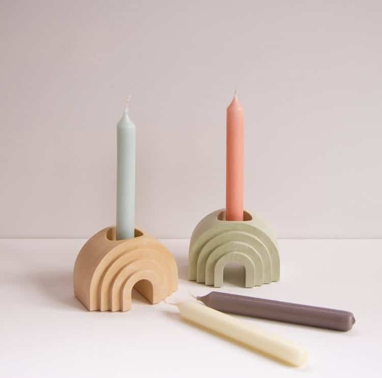 Arched Candle Holders