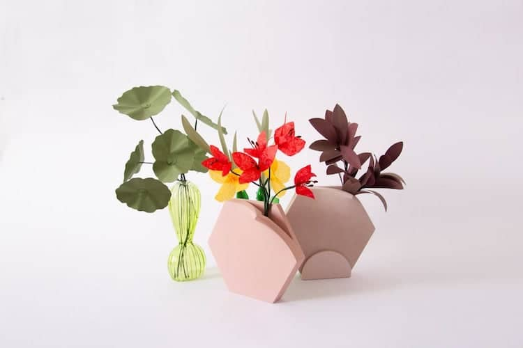 Hexagon Vase