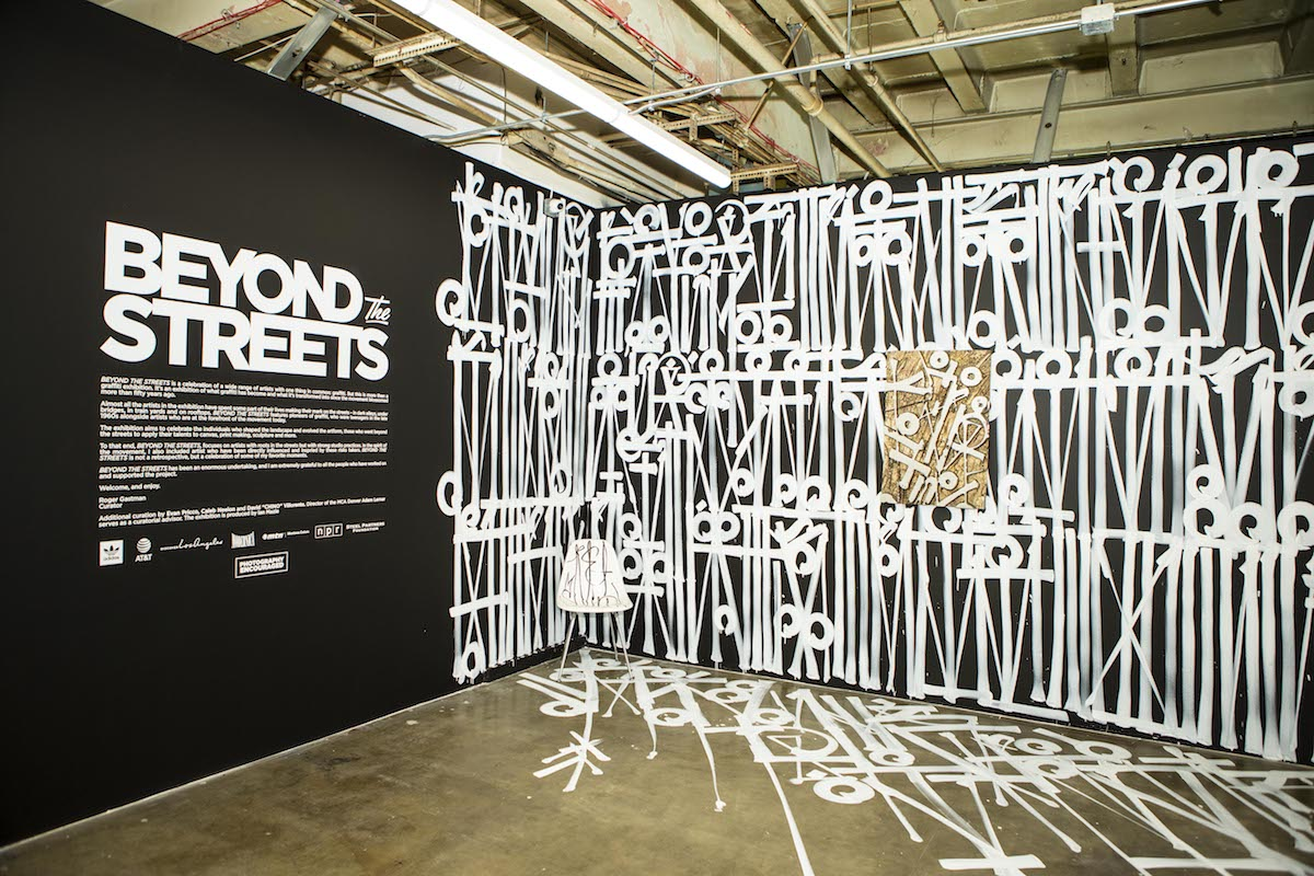 Beyond the Streets Graffiti Exhibit