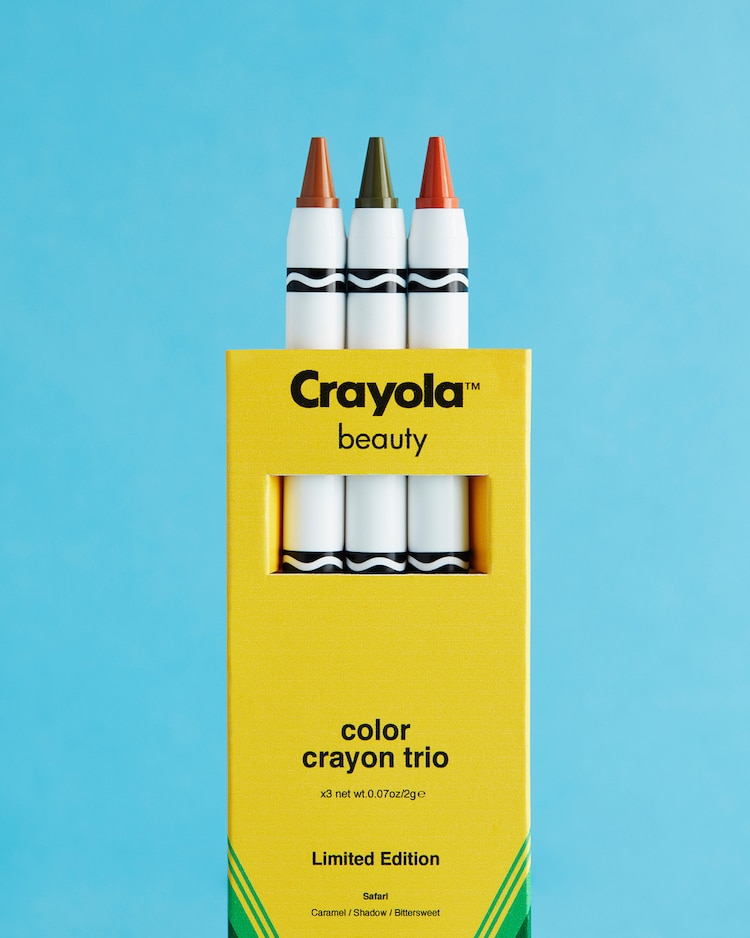 Crayola Unveils Makeup Collection That Looks Just Like Their