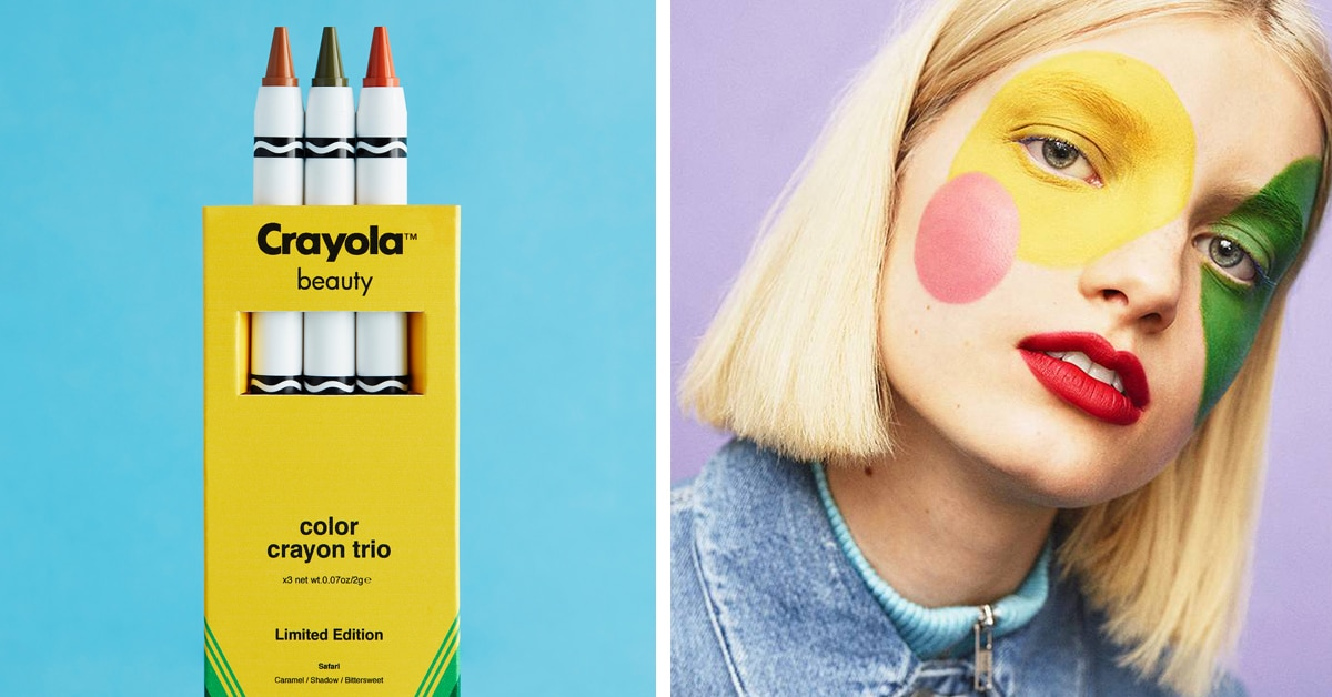 Crayola Launch Makeup Collection Based On Its Colorful Wax