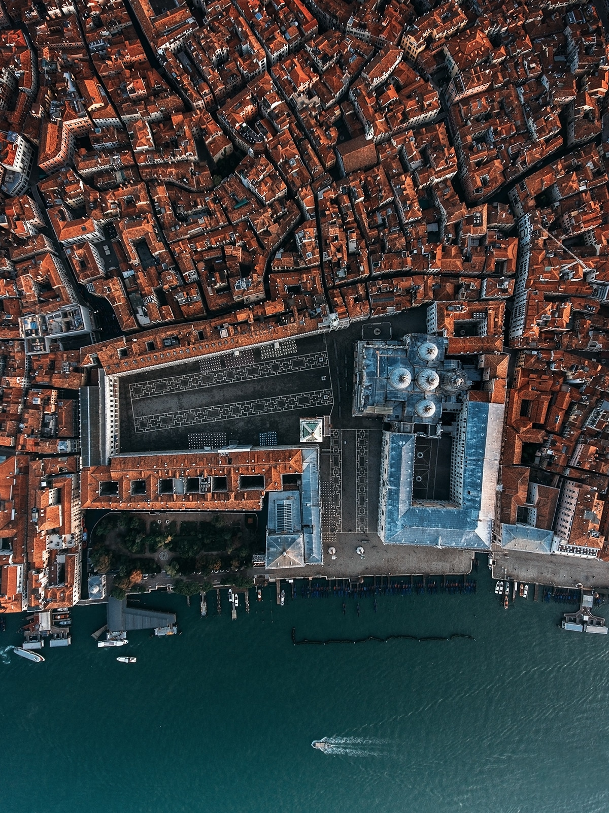 Aerial Photography Venice by Dimitar Karanikolov