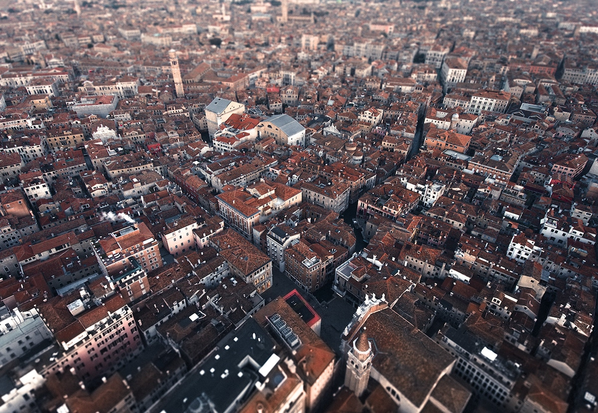 Aerial Photo of Venice