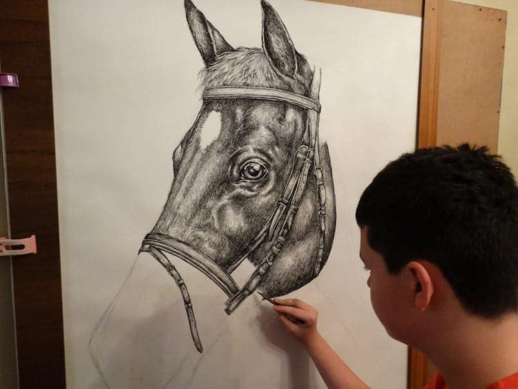 Ilustraciones de animales del niño prodigio Dušan Krtolica