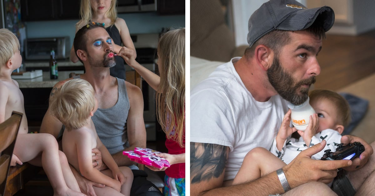 Heartwarming Portraits Show How Different Types of Dads Spend Time With Their Kids