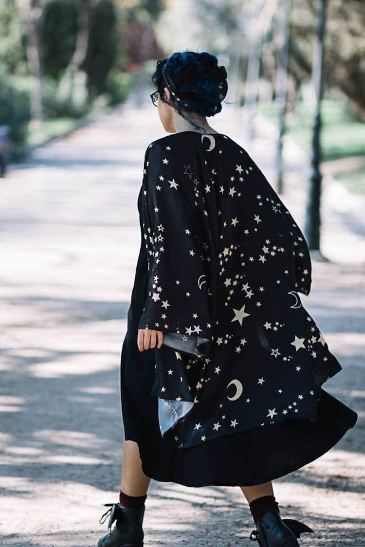 Galaxy Kimono Robes by El Costurero Real