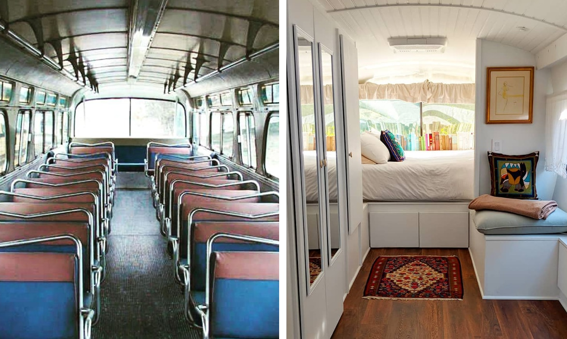 Vintage Greyhound Bus Converted Into Home Is Now For Sale