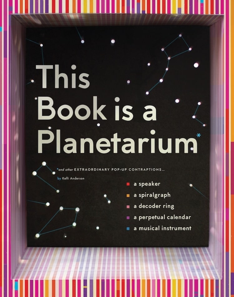 Planetario en forma de libro