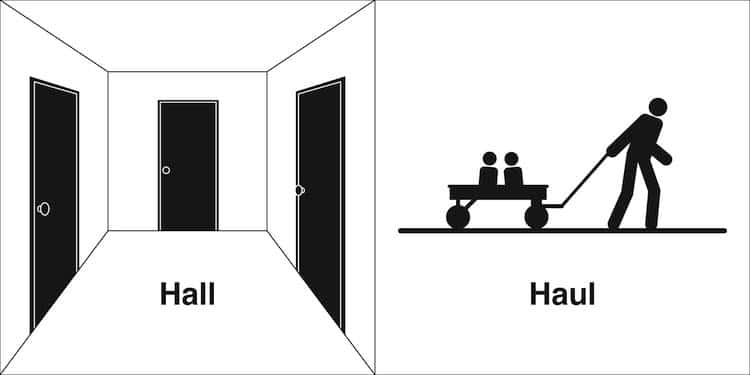 Visual Representation of Homophones by Bruce Worden