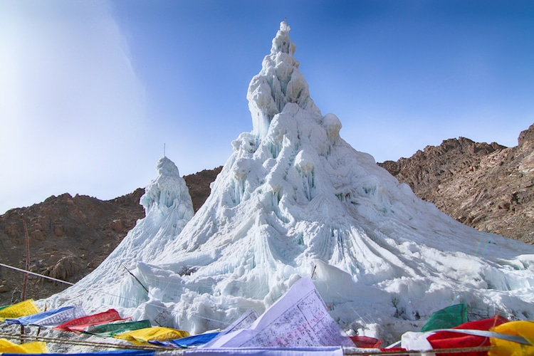 What Are Ice Stupas