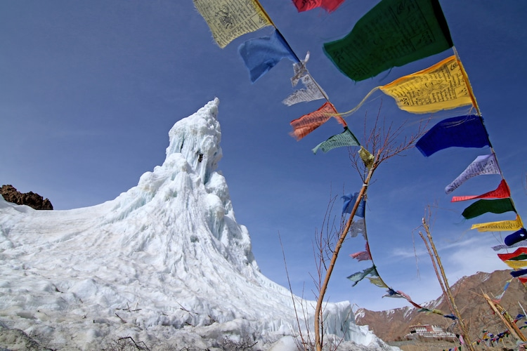 What Is an Ice Stupa
