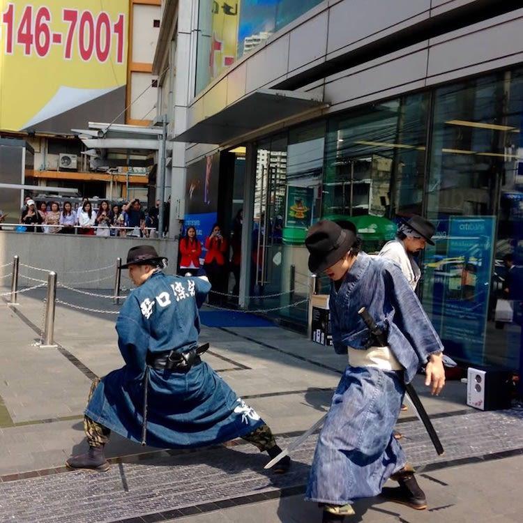 Modern Samurai Isse Ichidai Jidaigumi Japanese Street Cleaners