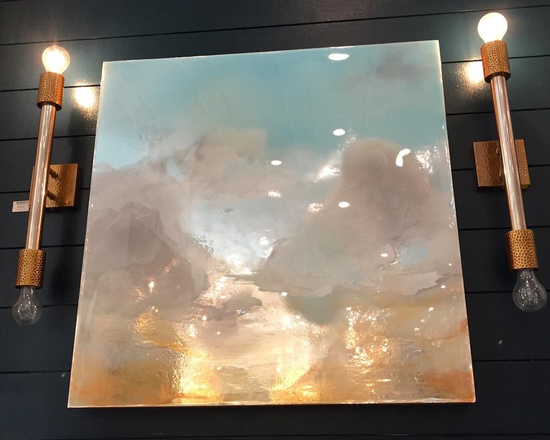 Mixed Media Landscape Paintings Jessica Dunegan Resin Paintings