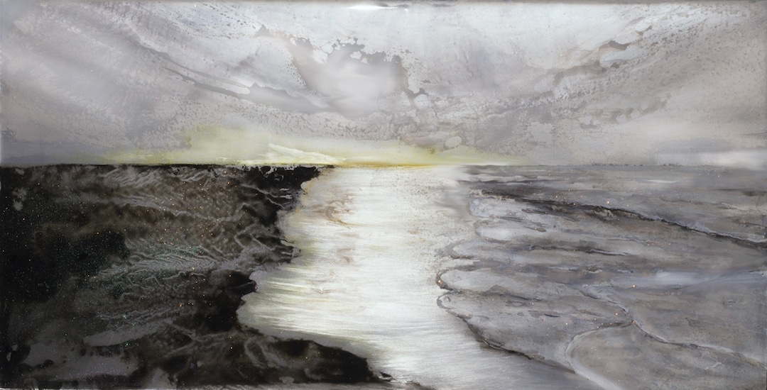 Mixed Media Landscape Paintings Jessica Dunegan Resin Paintings