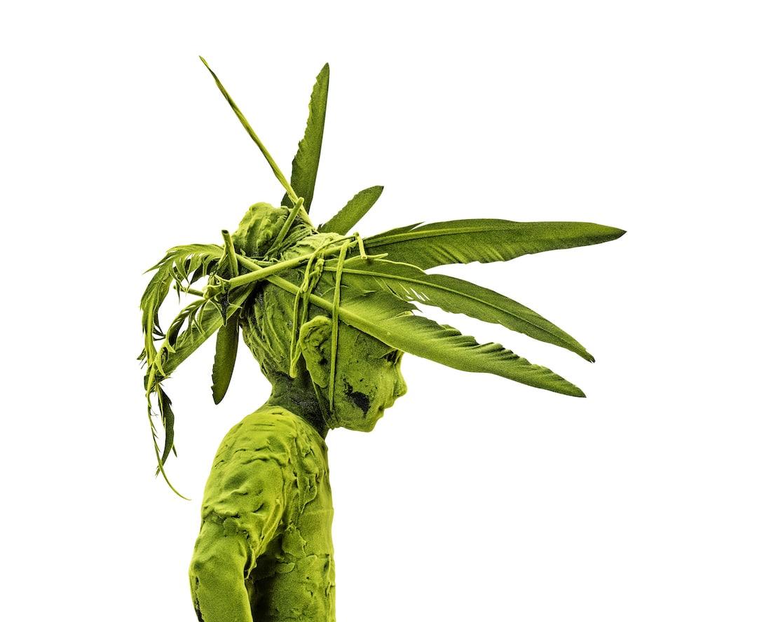 Moss People Sculptures of Children Kim Simonsson