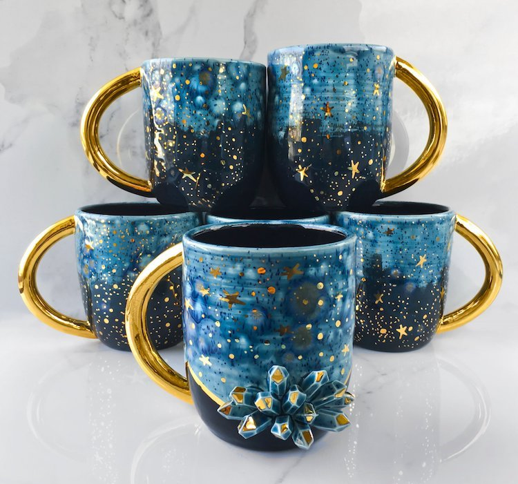 Modern Mud Galaxy Ceramics