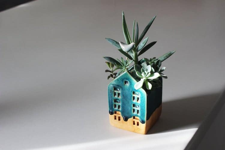 House Shaped Planter