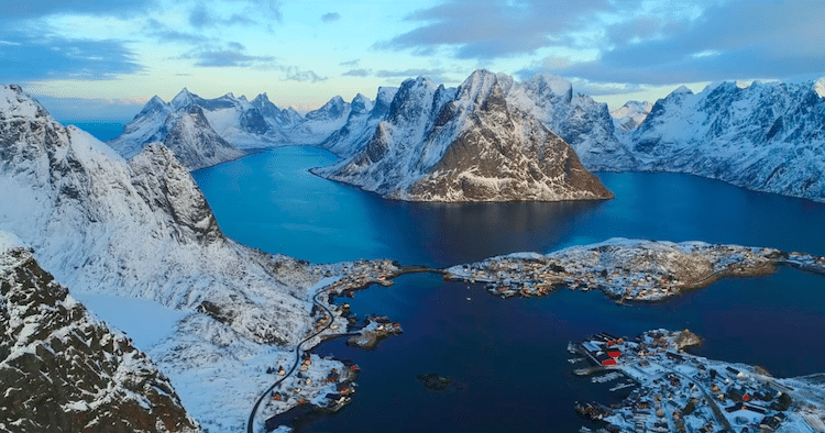 Northern Norway Video by Sergey Lukankin