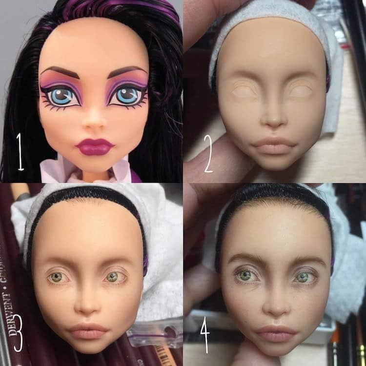 Realistic Doll Art by Olga Kamenetskaya