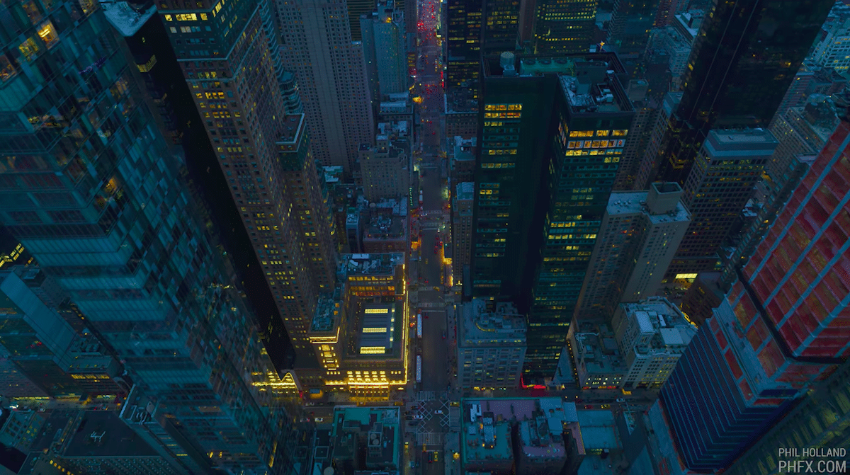 12K Aerial Cinematography Captures the NYC Skyline in