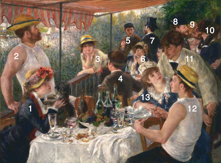 Renoir Luncheon of the Boating Party Renoir Luncheon of the Boating Party