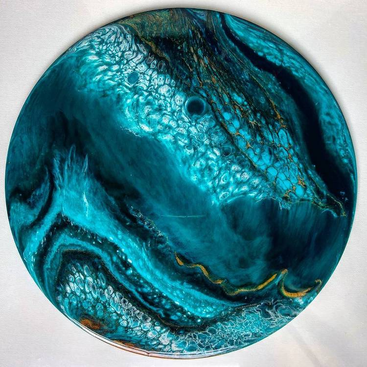 Resin Artwork by Natalie Muir