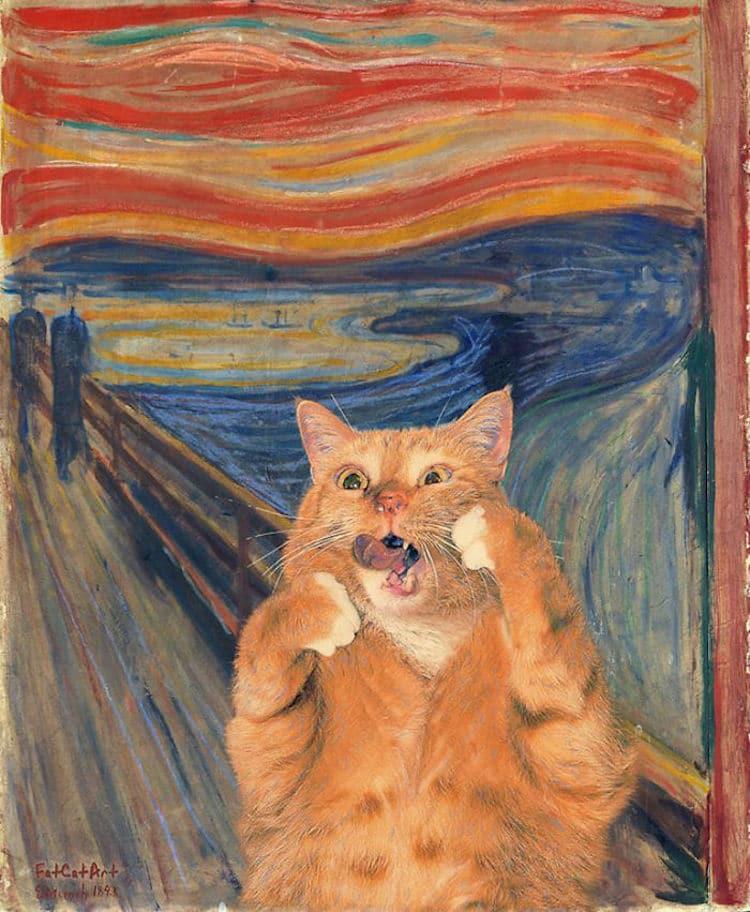 Arte Gato Gordo