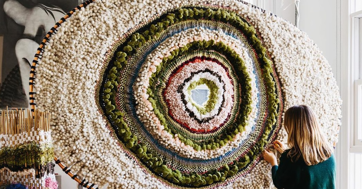 Textile Art Captures The Colors And Texture Of The