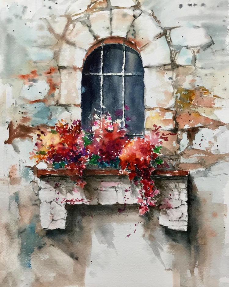 11 best Shi Tao images on Pinterest | Watercolor paintings