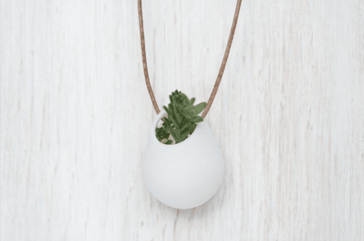 Wearable Planter 3D Printer Planter Necklace Planter Bike Planter