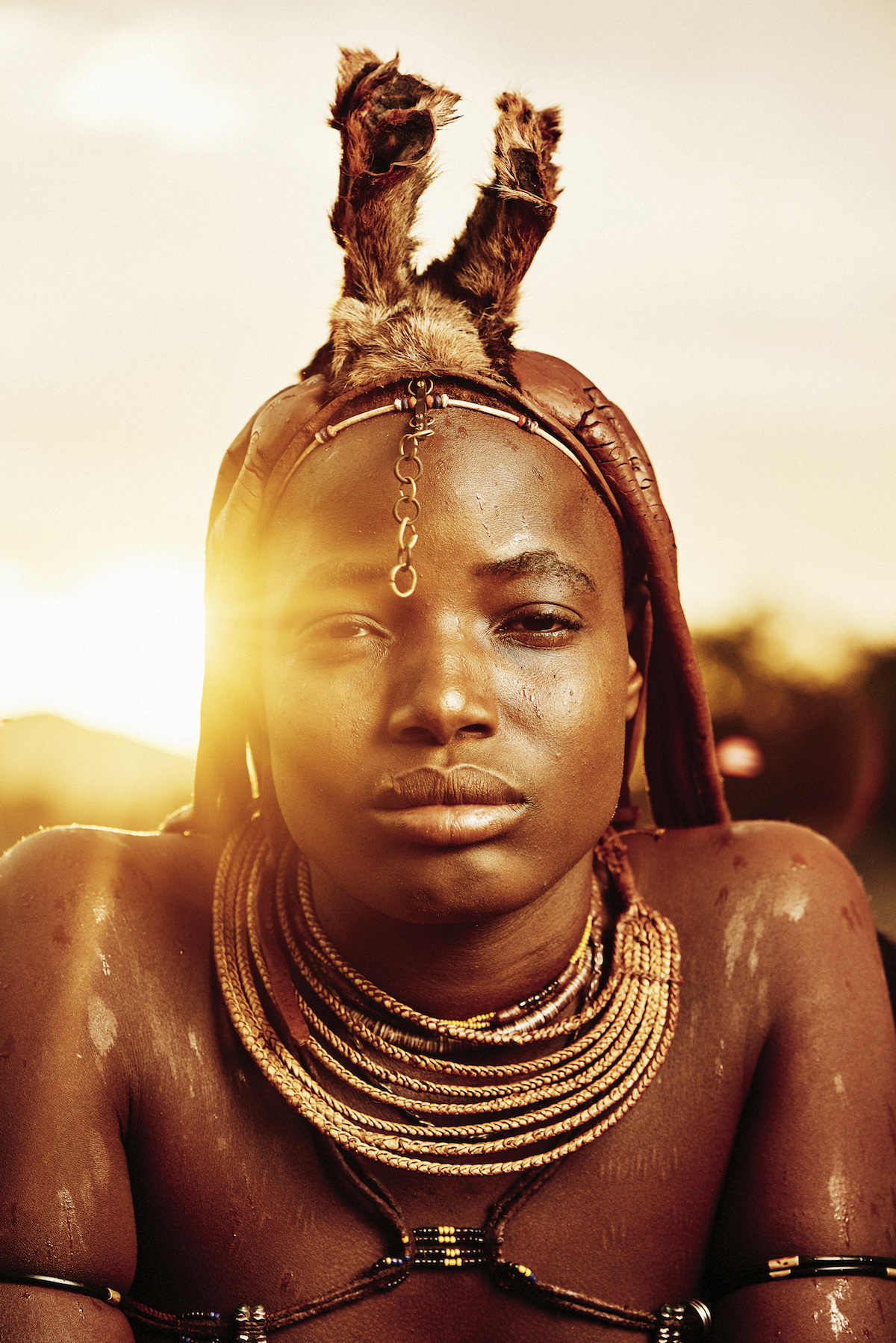 Portrait of Himba from Namibia by Adam Koziol