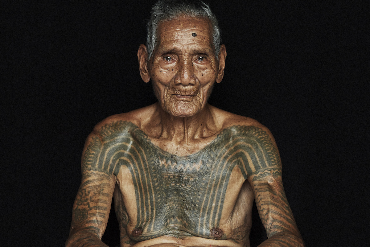 Portrait of Kalinga Man from Philippines by Adam Koziol