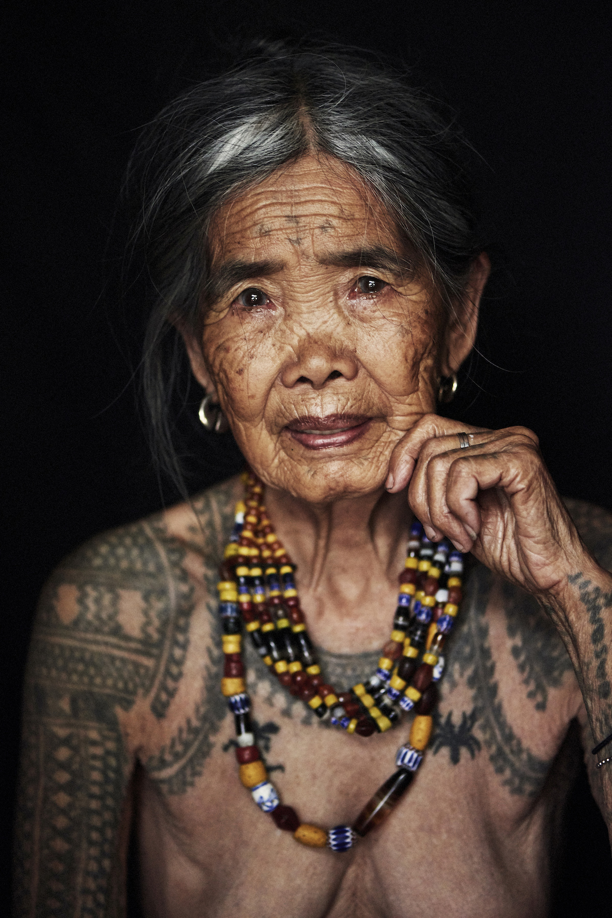 Portrait of Kalinga Woman from Philippines by Adam Koziol