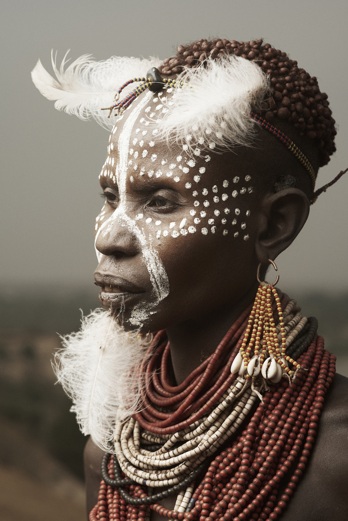 Portrait of Karo from Ethiopia by Adam Koziol