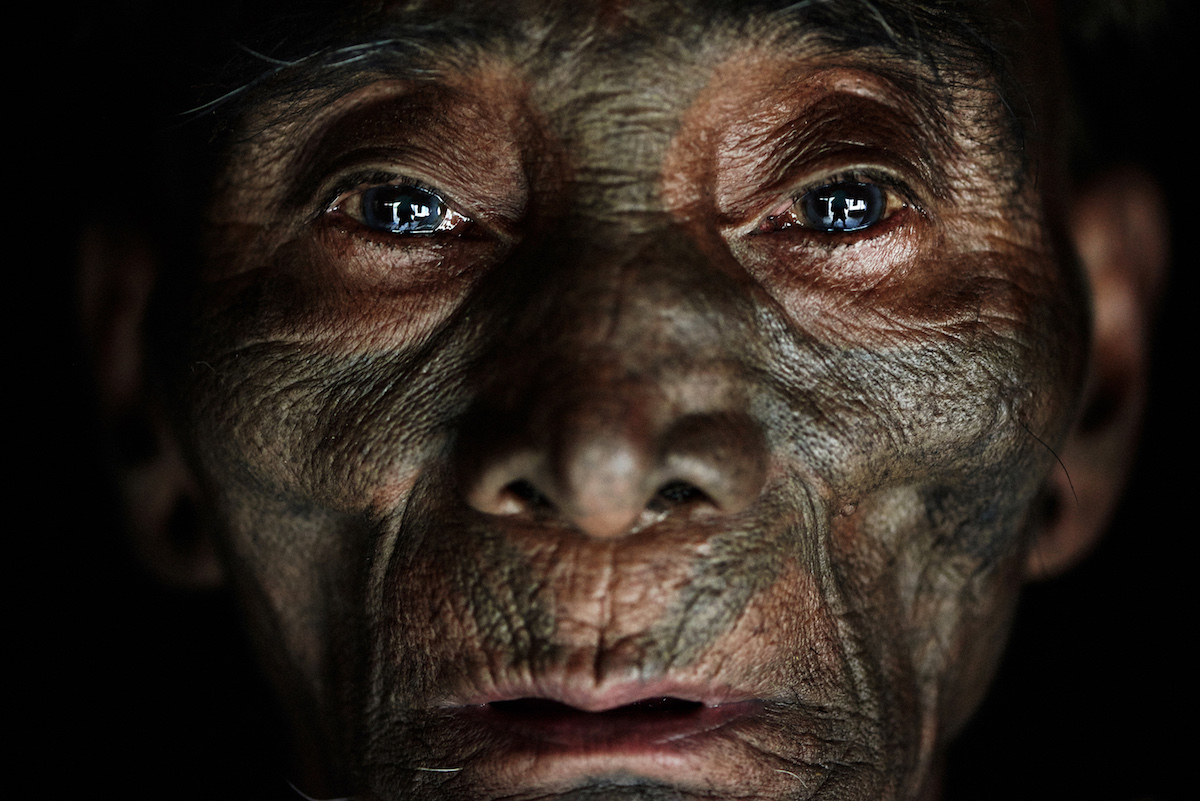 Portrait of Konyak Man by Adam Koziol
