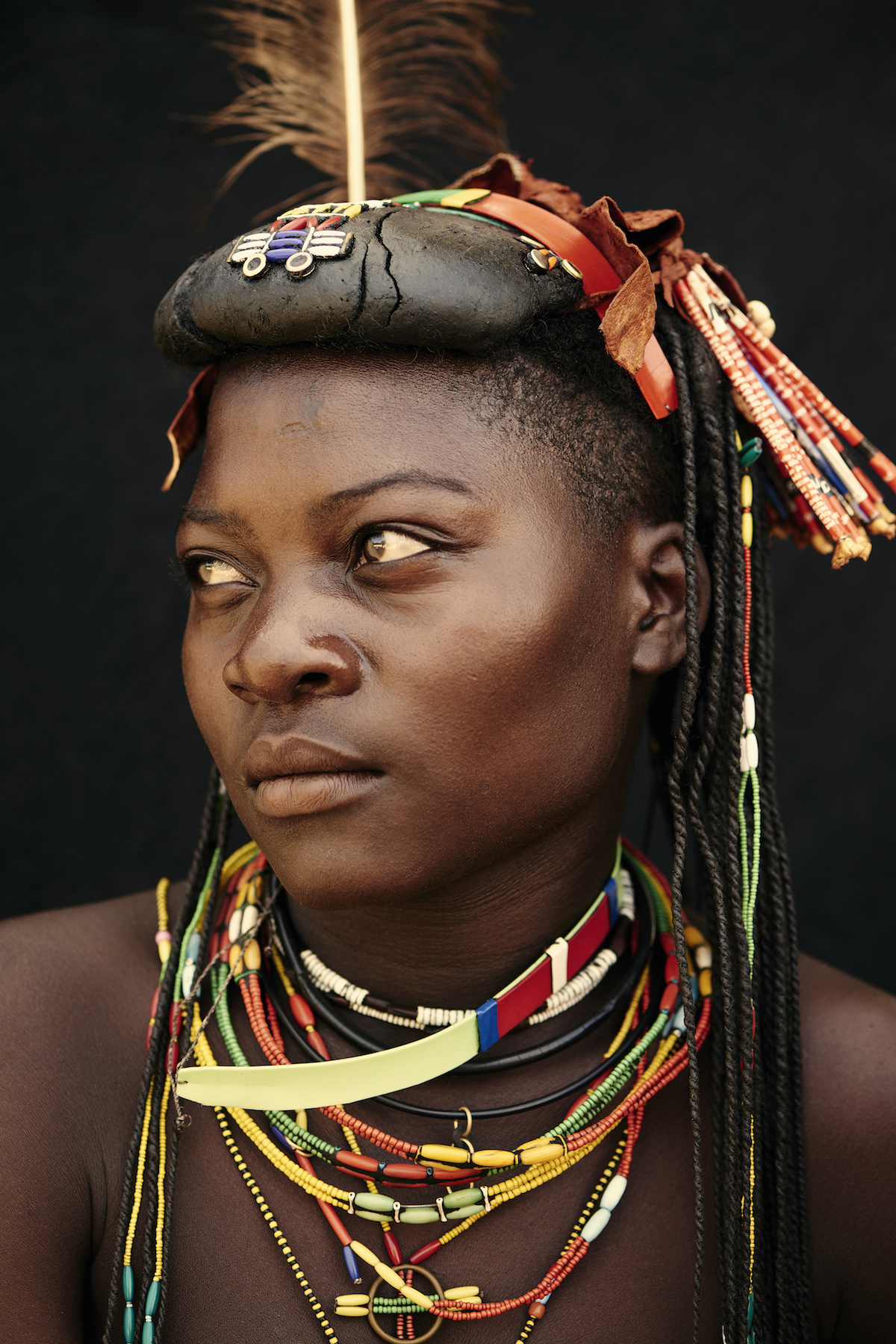 Portrait of Mucawana Woman from Angola by Adam Koziol
