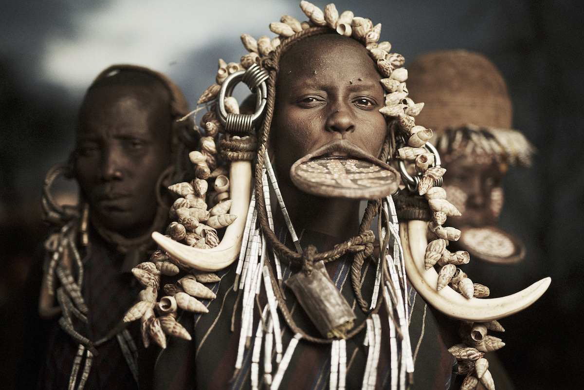 Photo of the Mursi from Ethiopia by Adam Koziol
