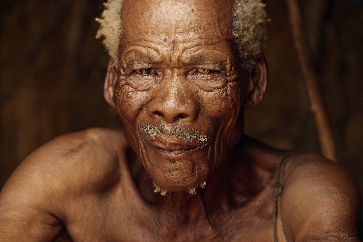 Photo of the San Tribe from Namibia by Adam Koziol