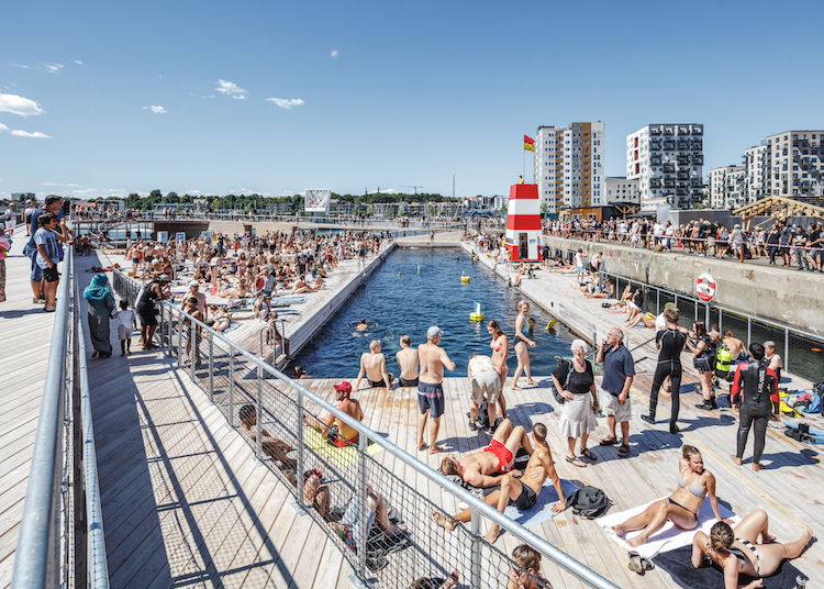 BIG - Aarhus Harbour Bath