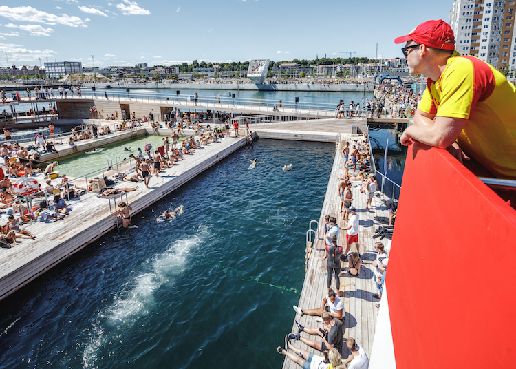 BIG Public Bathing Complex Aarhus