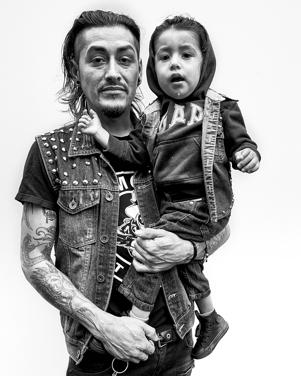 Portraits of Punks by David Burlacu