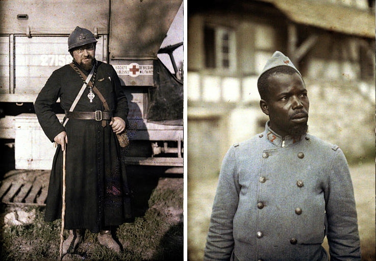 Color Portraits World War I