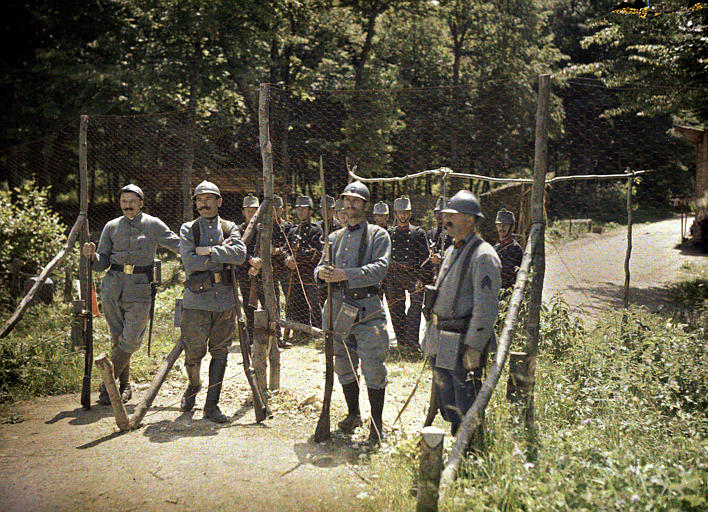 World War I Color Photography