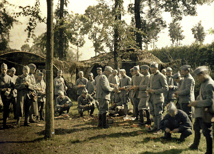 Color Photos World War I