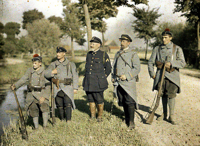 Striking Color Photographs of World War I Taken by the