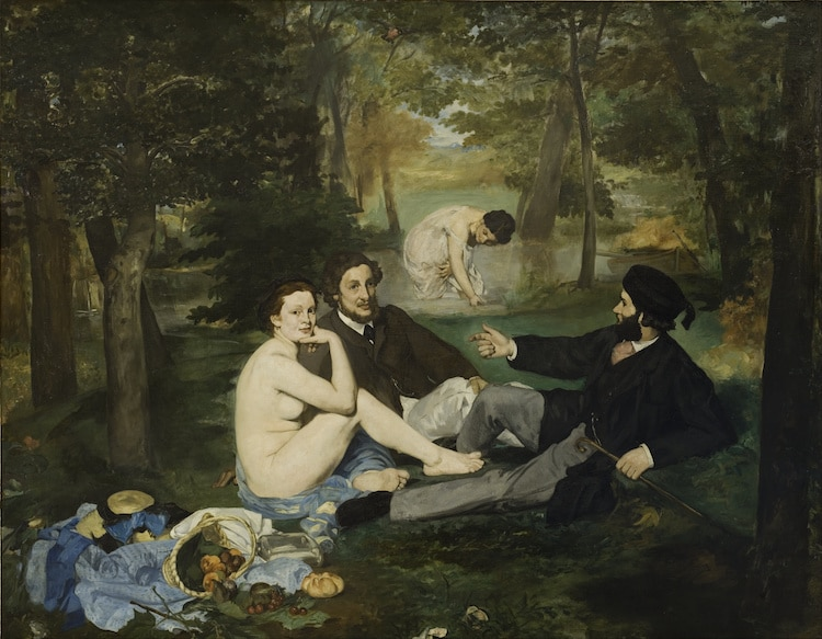 Edouard Manet Luncheon on the Grass Le Dejeuner sur l'herbe