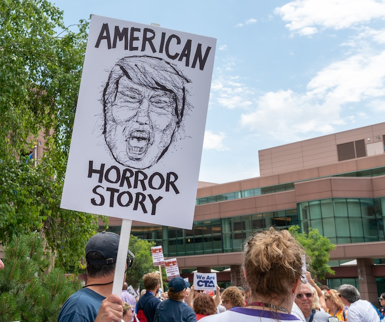 Families Belong Together Protest March Signs