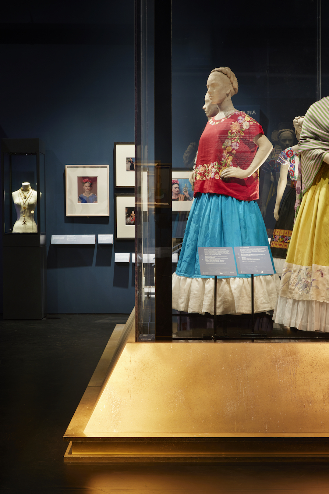 Frida Kahlo Exhibition Installation Photos Making Her Self Up